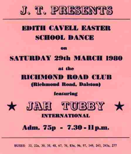 Jah Tubbys March 1980