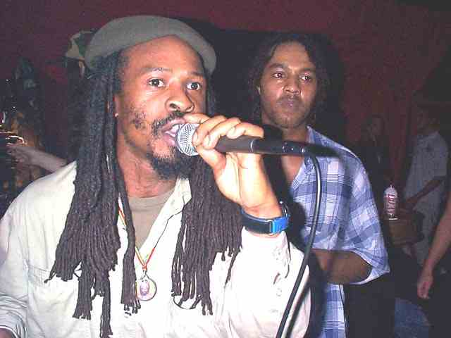 Errol Bellot singing Jah Creation