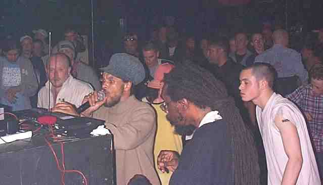 Jah Tubbys ina Chinnerys Club, Southend on Sea...